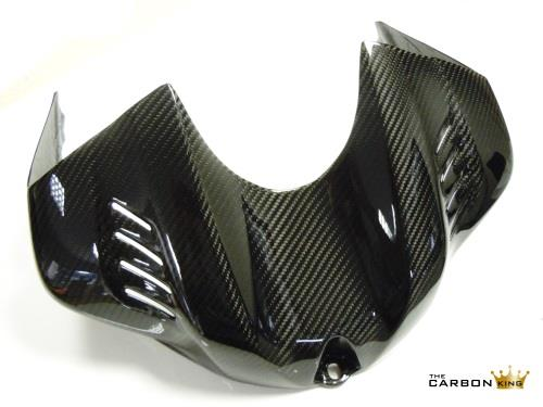 YAMAHA R6 2017 ON CARBON FIBRE TANK AIR BOX COVER IN TWILL WEAVE FIBRE GAS