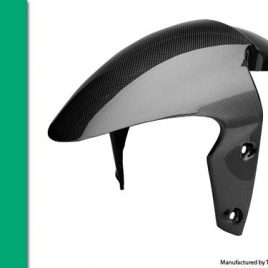 THE CARBON KING TRIUMPH DAYTONA 675 & STREET TRIPLE FRONT MUDGUARD FENDER FIBRE