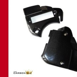 THE CARBON KING DUCATI 888 CARBON FIBRE DASH SURROUND FUSE BOX TRIM COVER