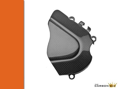 THE CARBON KING APRILIA RSVR & TUONO CARBON FIBRE SPROCKET COVER FIBER 04-10