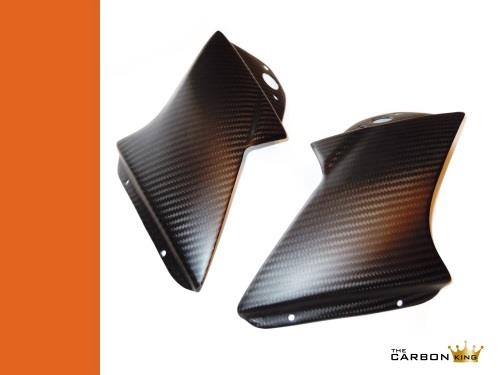APRILIA RSVR CARBON FIBRE AIR SPOILERS DUCTS FAIRING DEFLECTORS MIRROR RSV 04-10