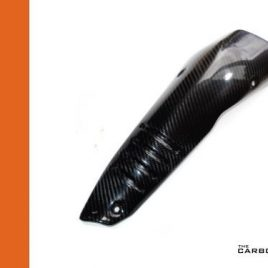 THE CARBON KING APRILIA RSV4 TUONO V4 CARBON FIBRE EXHAUST HEAT SHIELD COVER