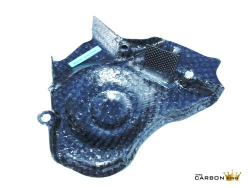 THE CARBON KING APRILIA RSV4 SATIN TWILL CARBON FIBRE SPROCKET COVER