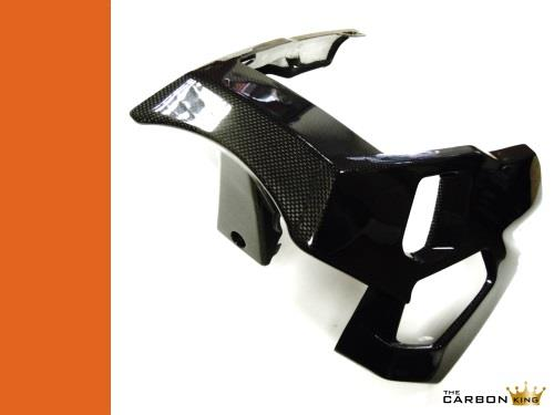APRILIA TUONO V2 2006-2010 CARBON FIBRE BELLY PAN (1 PIECE) IN PLAIN WEAVE GLOSS
