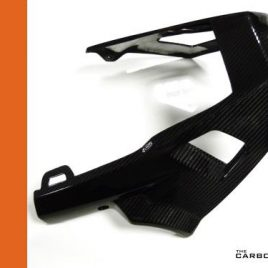 APRILIA TUONO V2 2006-2010 CARBON FIBRE BELLY PAN (1 PIECE) IN TWILL WEAVE GLOSS