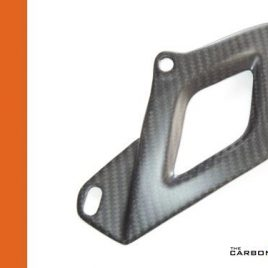 THE CARBON KING APRILIA RSV4 & TUONO V4 TWILL CARBON FIBRE LOWER CHAIN GUARD TOE
