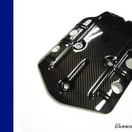 BMW R1200GS / ADVENTURE CARBON FIBRE BASH PLATE SUMP PROTECTOR FIBER TWILL WEAVE