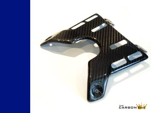 THE CARBON KING BMW HP2 MEGAMOTO CARBON FIBRE UPPER REAR SEAT TRIM PANEL GUARD