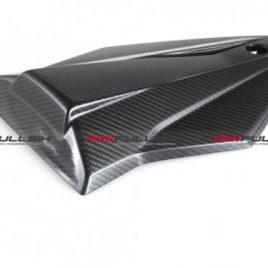 BMW S1000RR 2015 ON CARBON FIBRE PASSENGER SEAT COWL BY FULLSIX IN TWILL WEAVE