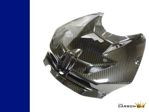 BMW S1000RR 2012-2014 CARBON FIBRE PETROL TANK COVER HP4 FIBER TWILL CARBON KING