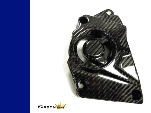 THE CARBON KING BMW S1000RR S1000R CARBON FIBRE SPROCKET COVER FITS YEAR 2015 ON