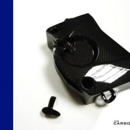 BMW S1000RR CARBON FIBRE SPROCKET COVER FITS YEAR 2009-14 PLAIN WEAVE FIBER
