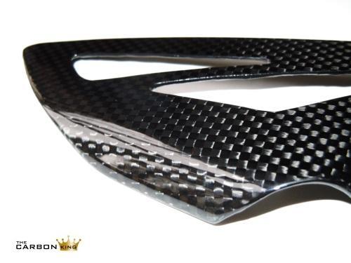 THE CARBON KING TRIUMPH 675 CARBON FIBRE HEEL GUARDS RIDERS FIBER 3K PLAIN 100%