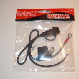 DATATOOL BATTERY CONDITIONER/CHARGER FLY LEAD FOR MOTORCYCLE FIT SMART CHARGER