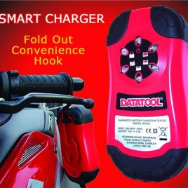 DATATOOL SMART CHARGER MOTORCYCLE BATTERY CHARGER AND CONDITIONER BIKE