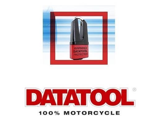 DATATOOL DEVIL 1000 DISC LOCK MOTORBIKE MOTORCYCLE SHACKLE INCLUDES 4 KEYS