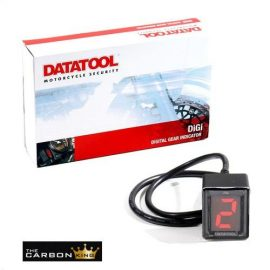 DATATOOL MOTORCYCLE DIGITAL GEAR INDICATOR DIGI MOTORBIKE DIGIGEAR SELF FIT