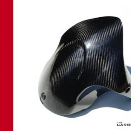 THE CARBON KING DUCATI DIAVEL CARBON FIBRE FRONT MUDGUARD FENDER FIBER