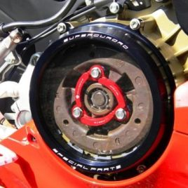 DUCABIKE CLEAR CLUTCH COVER AND SPRING RETAINER DEAL FOR DUCATI 959