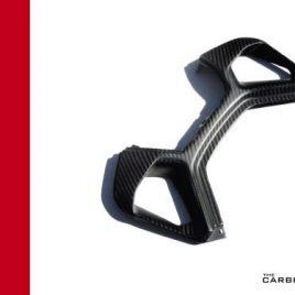 DUCATI PANIGALE 899 1199 CARBON FIBRE REAR SEAT AIR VENT TRIM FIBER TRIM