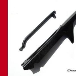 THE CARBON KING DUCATI 748 916 996 998 CARBON FIBRE CHAIN GUARD SET FIBER