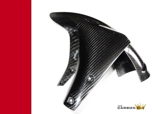 THE CARBON KING 750 800 900 1000 SS CARBON FIBRE FRONT MUDGUARD DUCATI FIBER