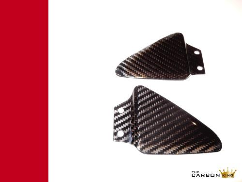 THE CARBON KING DUCATI CARBON REAR HEEL GUARDS 748 916 996 998 FIBRE FIBER