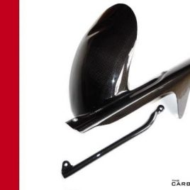 THE CARBON KING CARBON FIBRE REAR MUDGUARD DUCATI 748 916 996 998 HUGGER FIBER