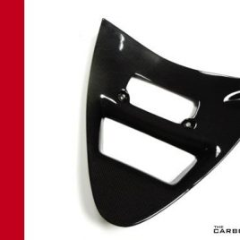 THE CARBON KING VEE PANEL DUCATI 748 916 996 RADIATOR FIBER FIBRE FAIRING PANEL
