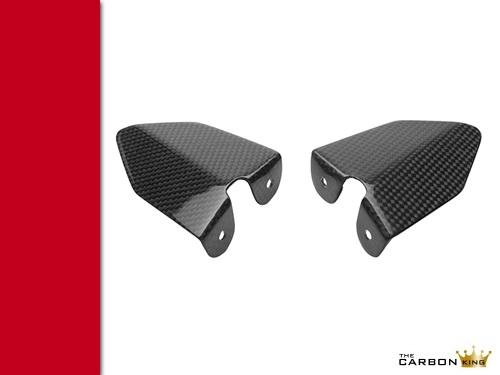 THE CARBON KING DUCATI 749 999 CARBON FIBRE HEEL GUARDS FIBER RIDERS