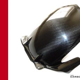 DUCATI 749 999 CARBON FIBRE REAR HUGGER MUDGUARD FOR GREY SWINGARM MODELS FIBER