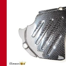 THE CARBON KING SPROCKET COVER DUCATI 749 999 PLUS OTHER MODELS FIBER FIBRE