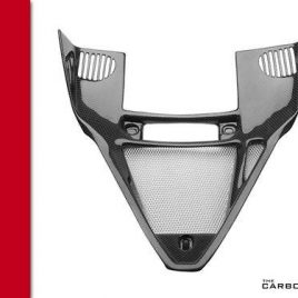 DUCATI 749 999 CARBON FIBRE VEE PANEL ALL MODELS UP TO 2004 FIBER IN PLAIN WEAVE