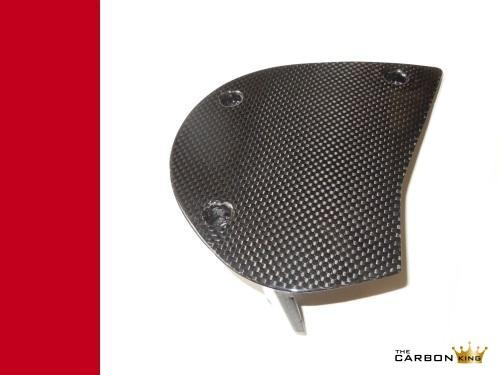 THE CARBON KING 600 750 SS DUCATI CARBON FIBRE SPROCKET COVER FIBER 3K PLAIN