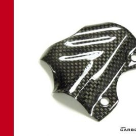 DUCATI 848 1098 1198 CARBON FIBRE REAR BRAKE MASTER CYLINDER GUARD PLAIN WEAVE