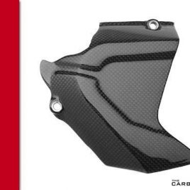 THE CARBON KING CARBON FIBRE SPROCKET COVER FOR DUCATI 848 1098 1198 FIBER