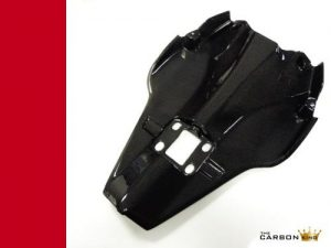 DUCATI 848 1098 1198 CARBON FIBRE TAIL UNDERTRAY IN GLOSS PLAIN WEAVE UNDER TRAY