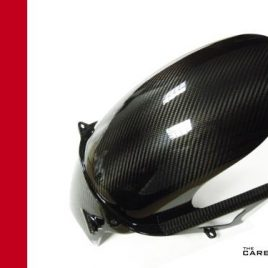 DUCATI SUPERSPORT 900SS IE & 1000DS CARBON FIBRE REAR HUGGER IN TWILL WEAVE 02+