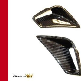 DUCATI 848 1098 1198 CARBON FIBRE SEAT UNIT CARBON AIR INTAKE VENTS IN TWILL