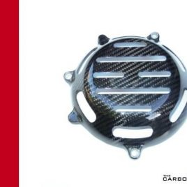 THE CARBON KING OPEN CARBON FIBRE CLUTCH COVER FITS MOST DUCATI FIBER 3K TWILL