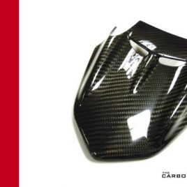 DUCATI DIAVEL CARBON FIBRE UPPER HEADLIGHT FAIRING COVER TWILL WEAVE 2014 ON