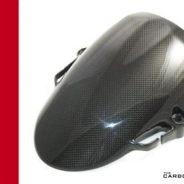THE CARBON KING FRONT MUDGUARD DUCATI HYPERMOTARD 1100 796 CARBON FIBRE FENDER