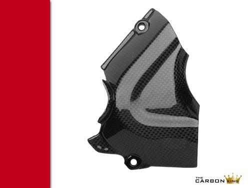DUCATI 1200 MULTISTRADA 2010-14 CARBON FIBRE SPROCKET COVER FIBER GUARD