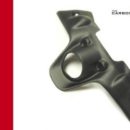 DUCATI 899 959 1199 1299 PANIGALE KEY GUARD SURROUND IN CARBON FIBER FIBRE