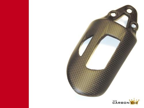 DUCATI PANIGALE REAR SHOCK GUARD IN CARBON FIBRE SATIN PLAIN WEAVE (MATT FINISH)