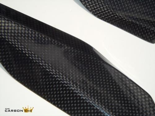 THE CARBON KING DUCATI PANIGALE 1199 UNDER SEAT TRIMS CARBON FIBRE FIBER (PAIR)