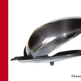 THE CARBON KING DUCATI ST2 ST3 ST4 CARBON FIBRE REAR HUGGER MUDGUARD FIBER