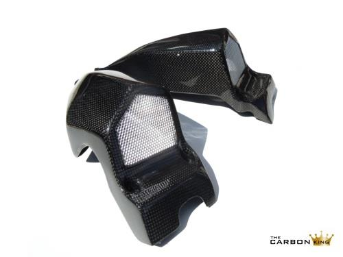 DUCATI STREETFIGHTER 848 1098 CARBON FIBRE AIR INTAKE DUCTS PAIR INTAKES FIBER