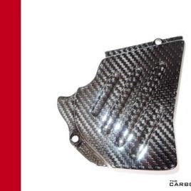 THE CARBON KING SPROCKET COVER FOR DUCATI 749 999 TWILL CARBON FIBRE FIBER