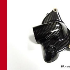 DUCATI 848 1098 1198 749 999 S4RS 998 CARBON FIBRE WATER PUMP COVER TWILL GLOSS